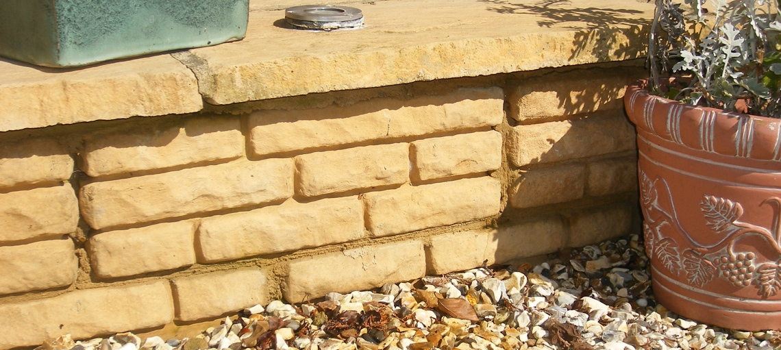 Cotswold Walling Minster Paving