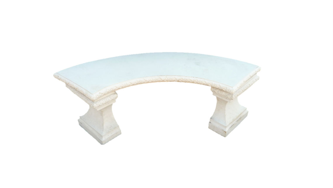 Curved Bench Garden Patio Design Accessories Minster Paving