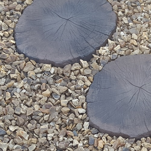 Log Style Stepping Stone Garden Accessories Minster Paving
