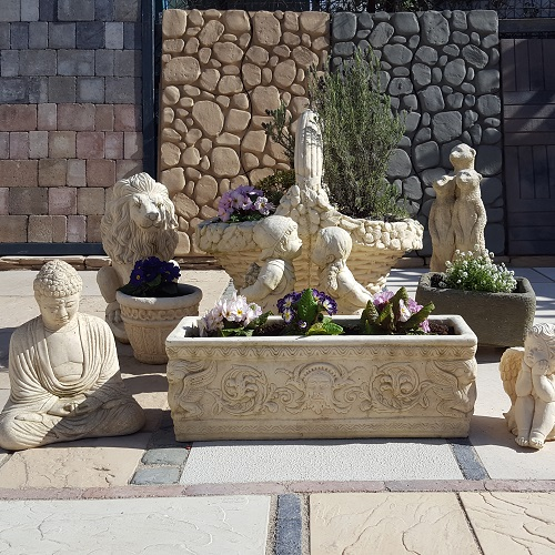 Benches, Planters & Ornaments