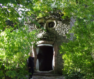 Forbidden corner garden